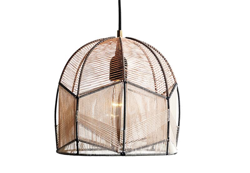 Intricate lamp by Alexandra Raben.