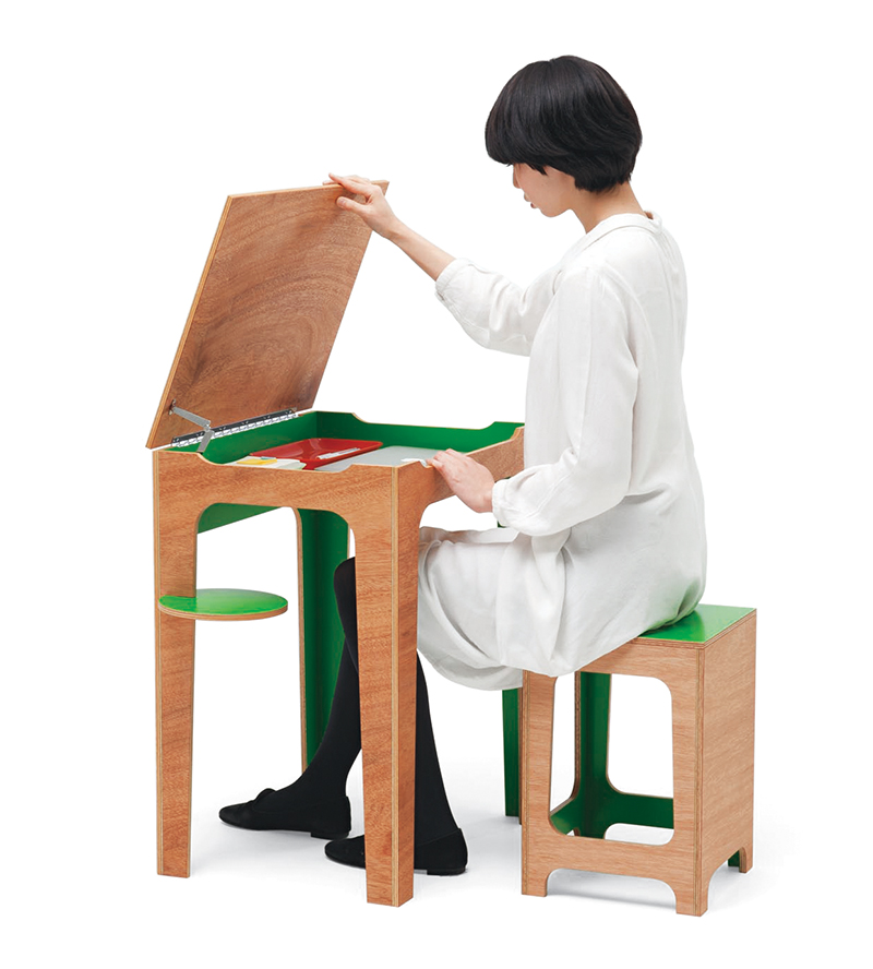 Schola Desk by Yota Kakuda for Ichiro