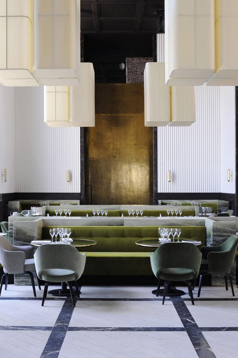 Monsieur Bleu restaurant in Palais de Tokyo