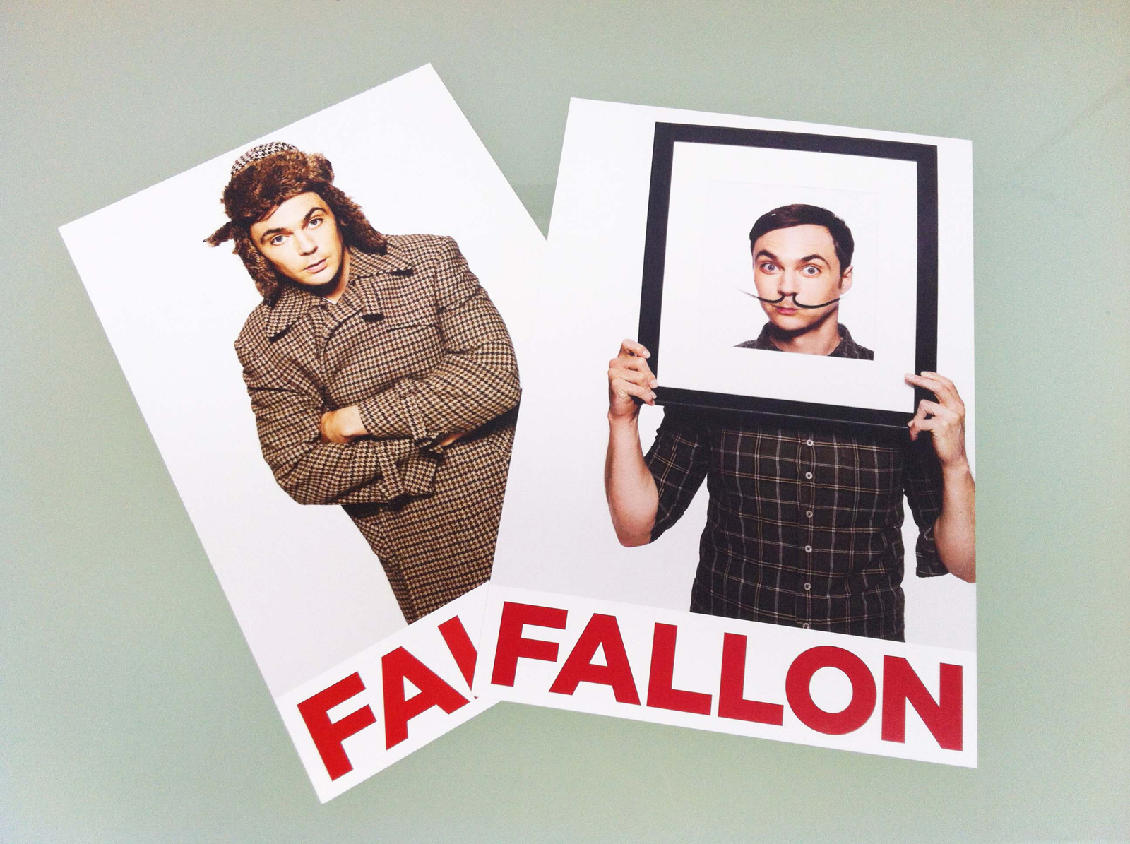 photographer promo of Aaron Fallon, based in Los Angeles, California. Jim Parsons from The Big Bang Thoery.