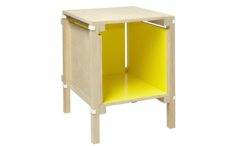Inside Out Night Stand by Droog