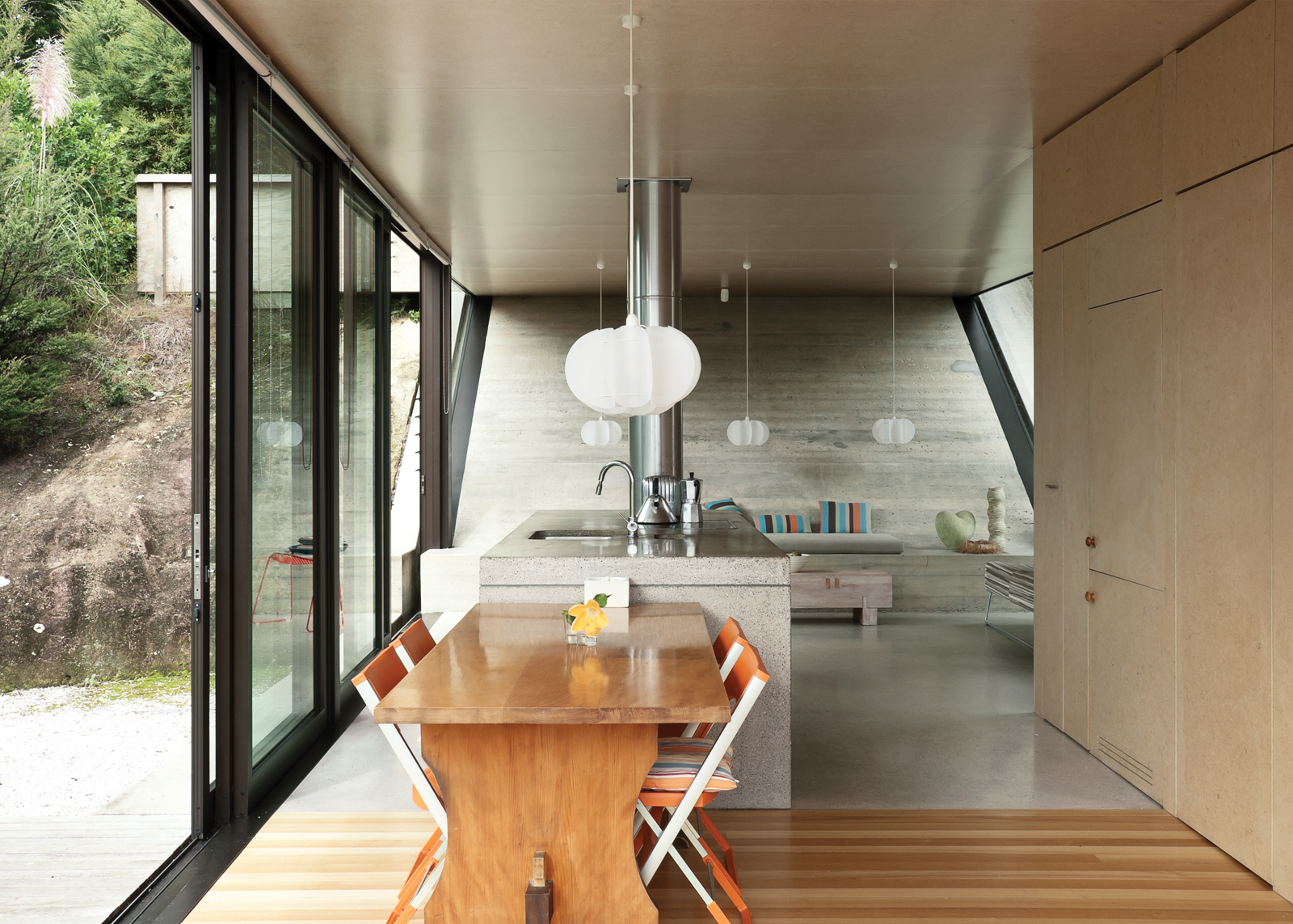 Modern kitchen and living room design ideas
