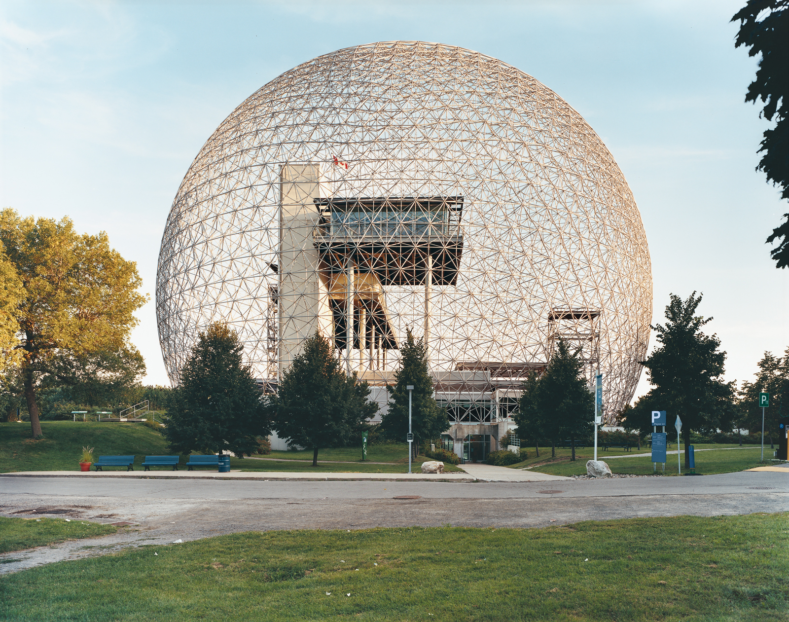 Biosphere in Montreal, Canada