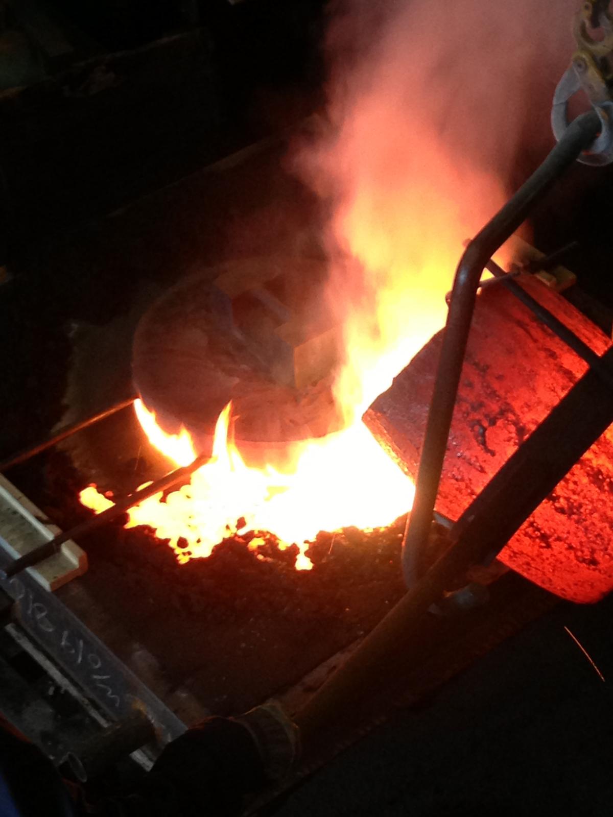 metal fire bocci 19