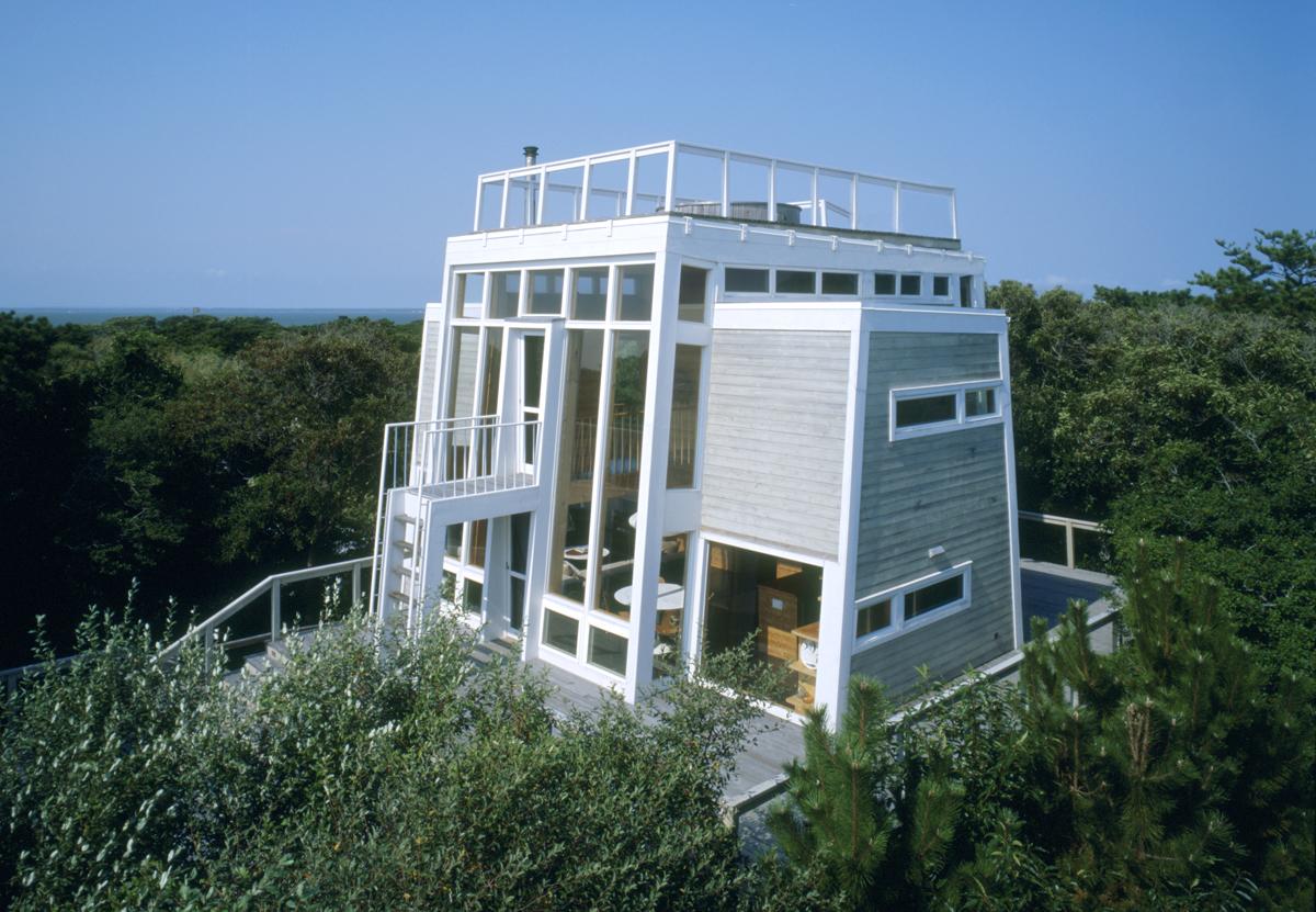 Andrew Geller modern beach house Fire Island