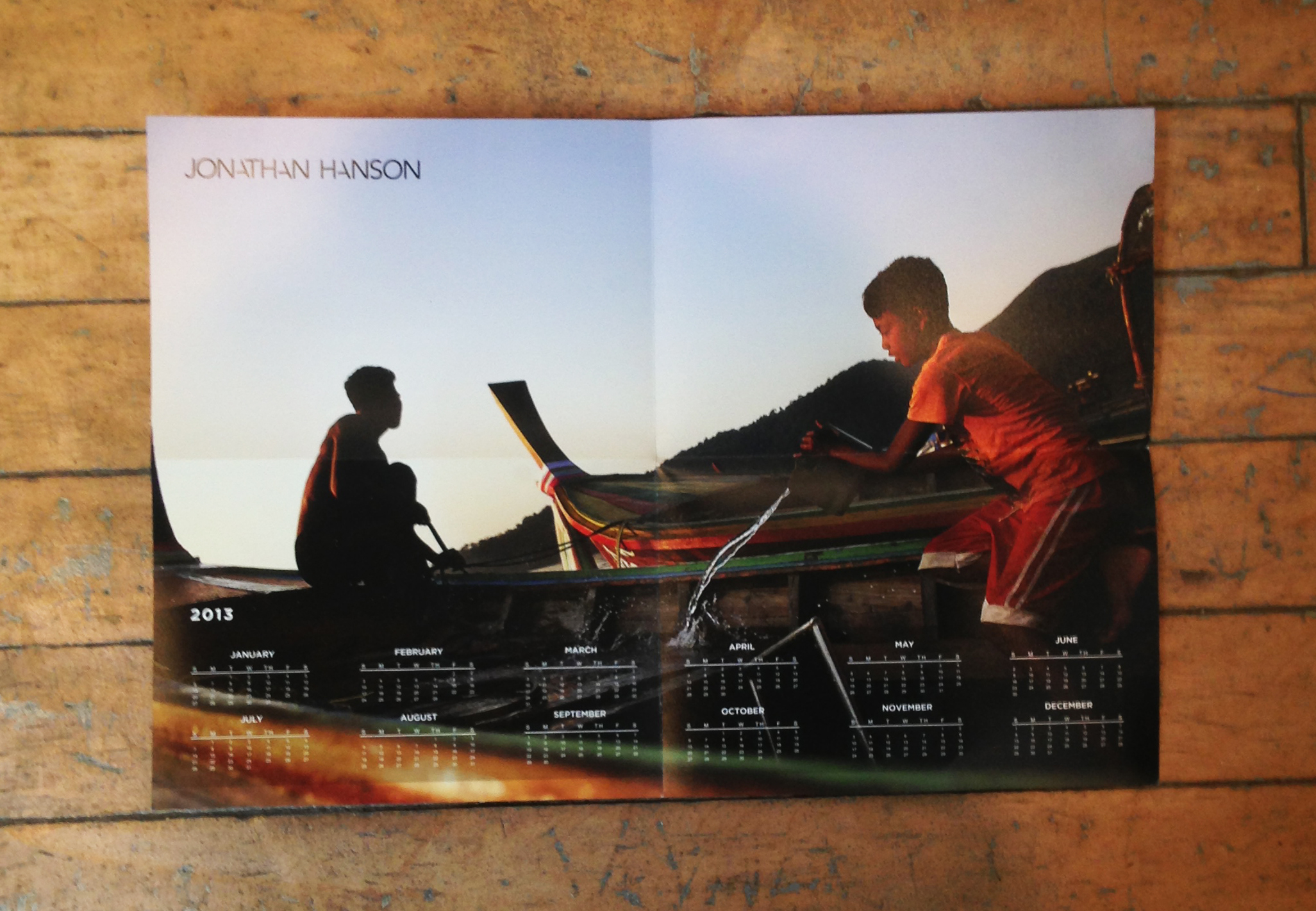 Photo promo by photographer Jonathan Hanson
