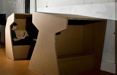 cardboard office 7
