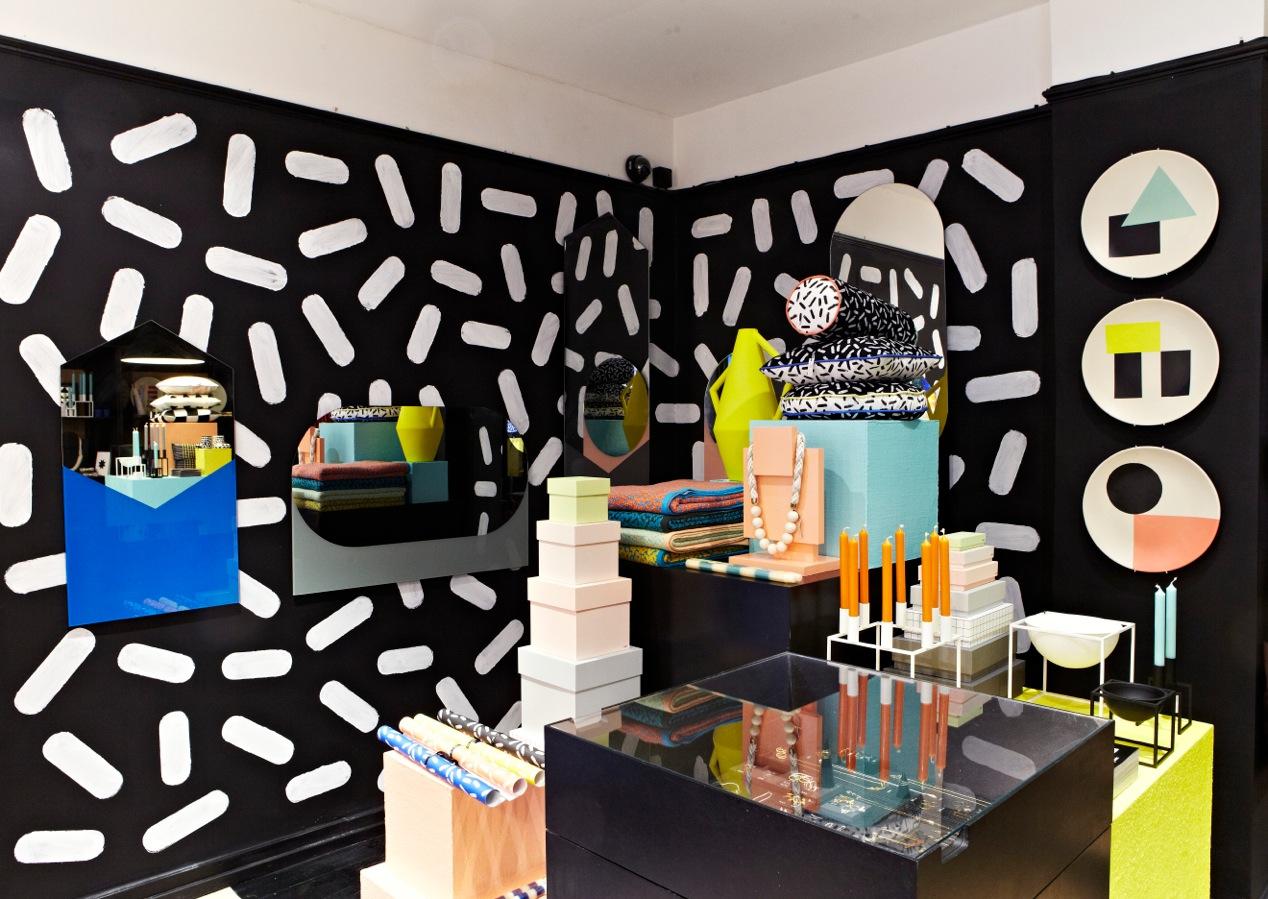 Darkroom Ettore Sottsass London Design Festival 2013 trends Memphis patterns