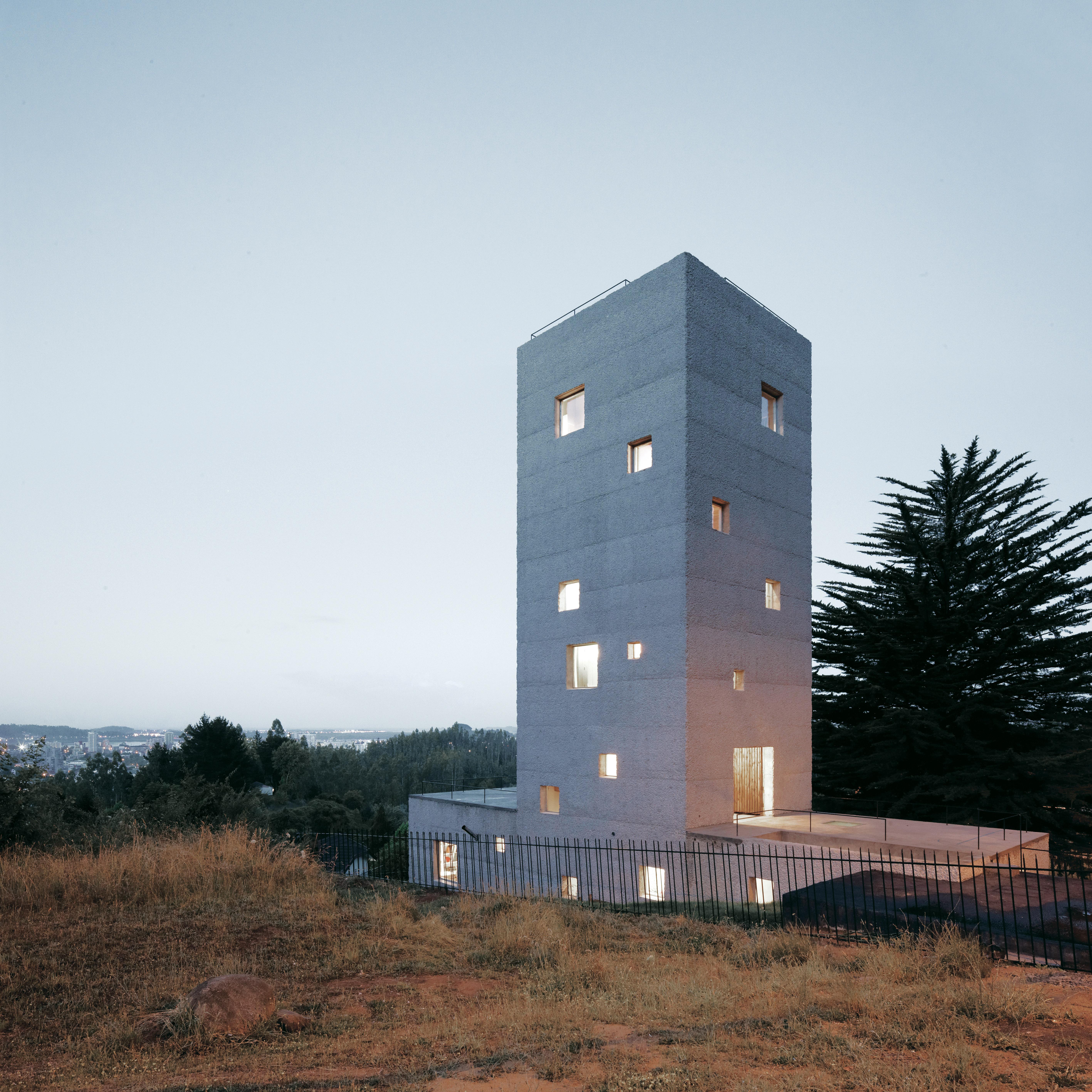 concrete home exterior in chile