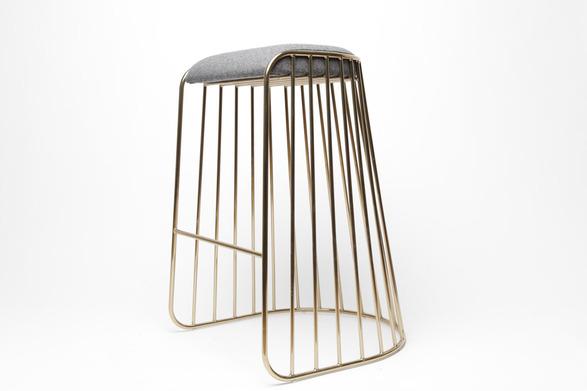 phase bride veil bar stool