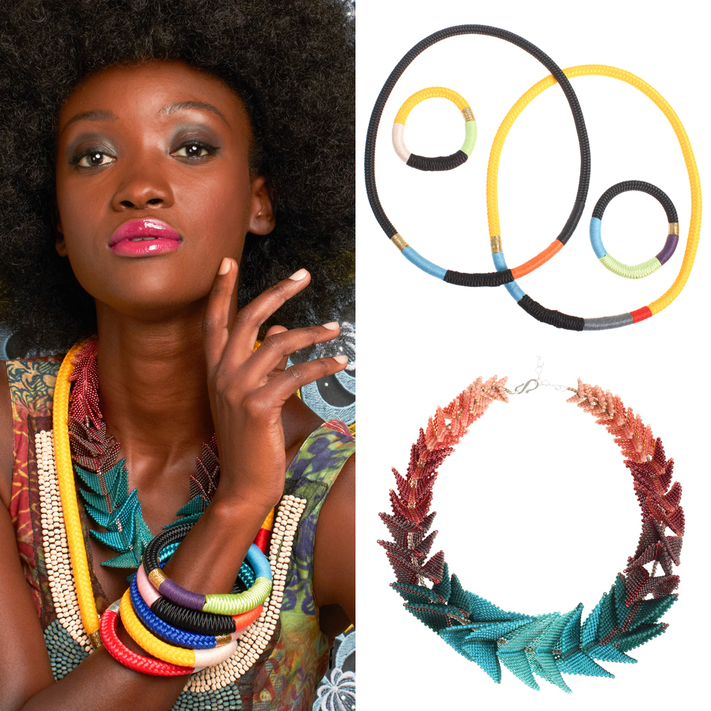 Artisan handmade bracelets necklace jewelry Fab x South Africa