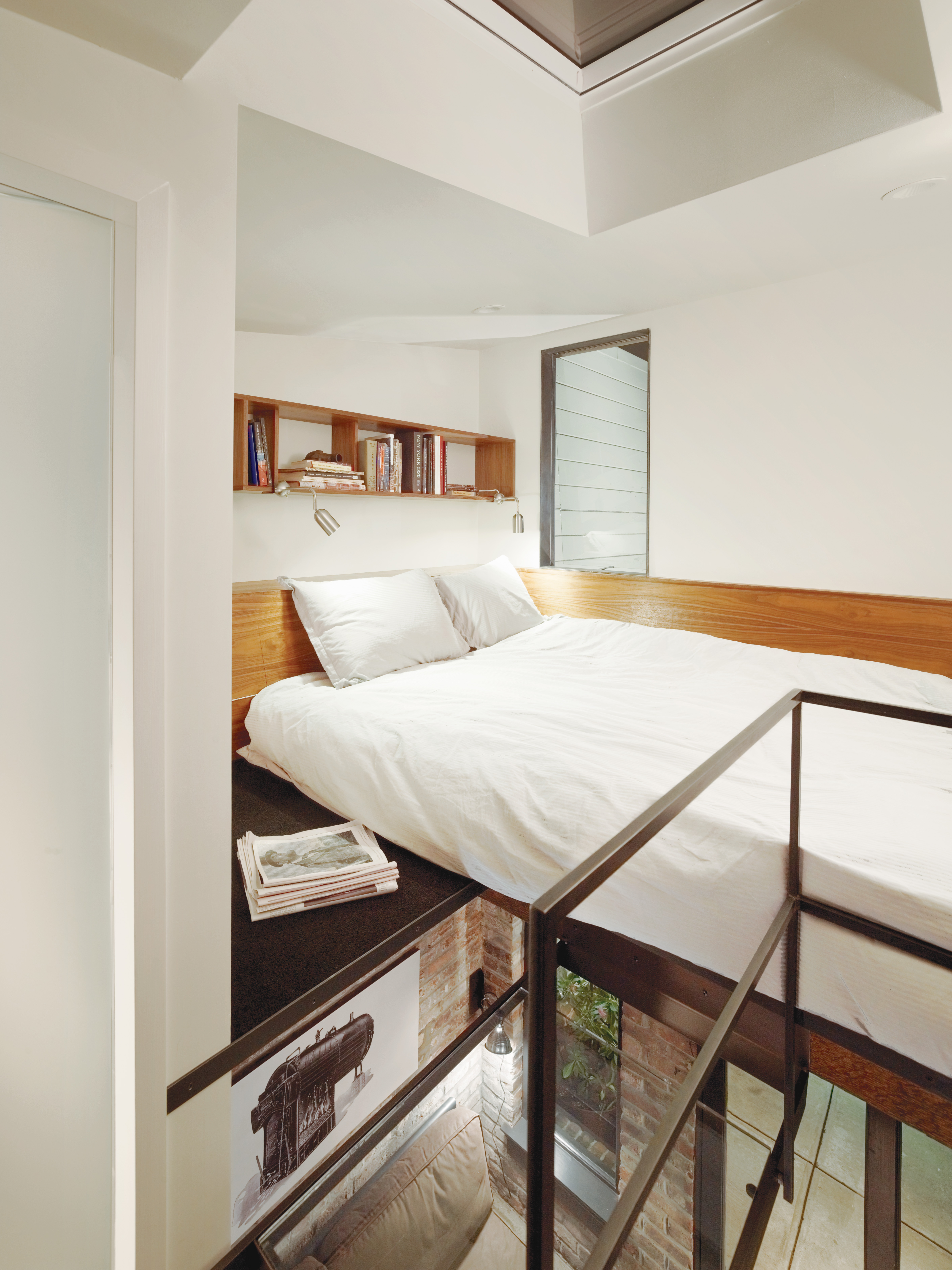 compact three story home in san francisco interior bedroom