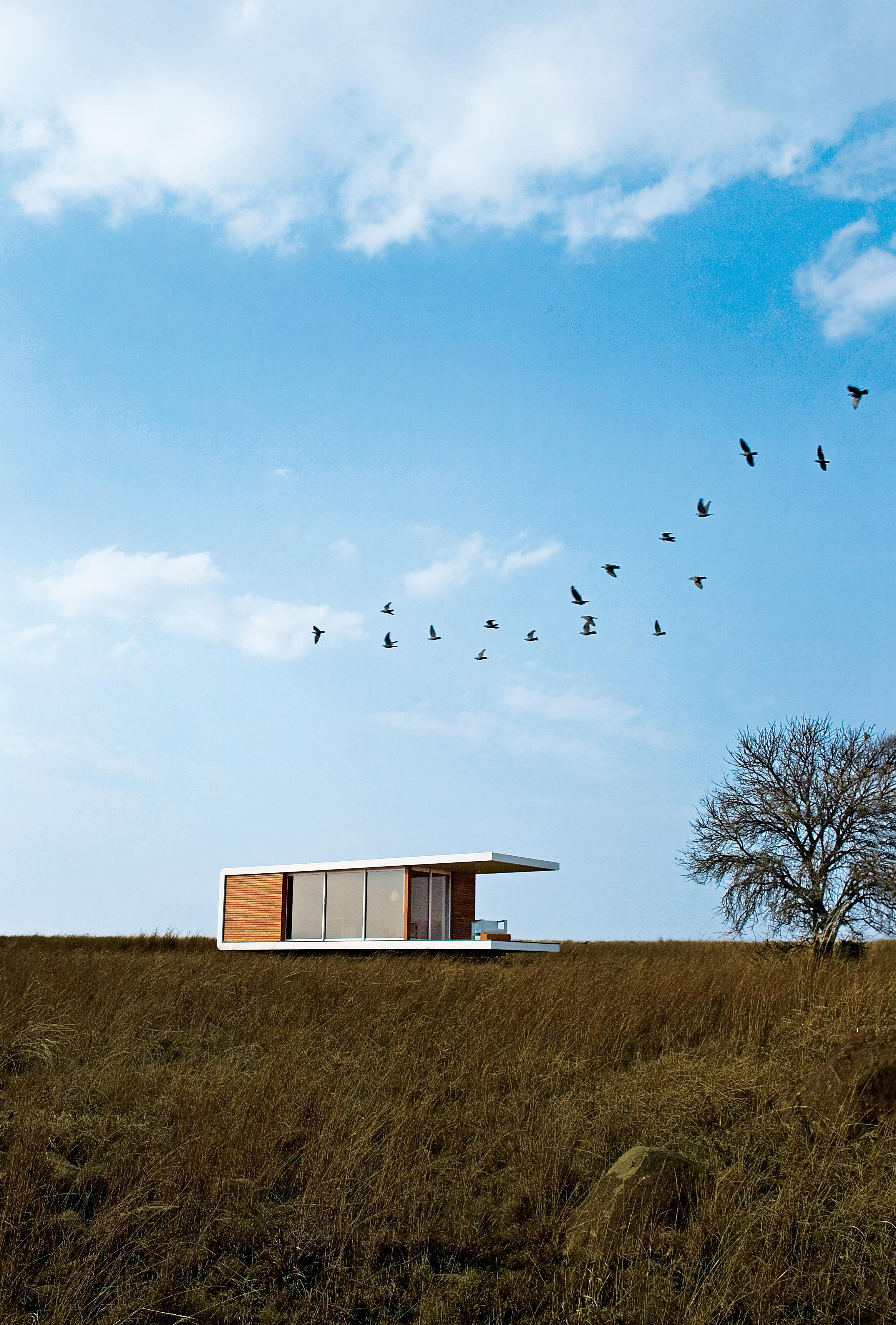into africa prefab housing exterior