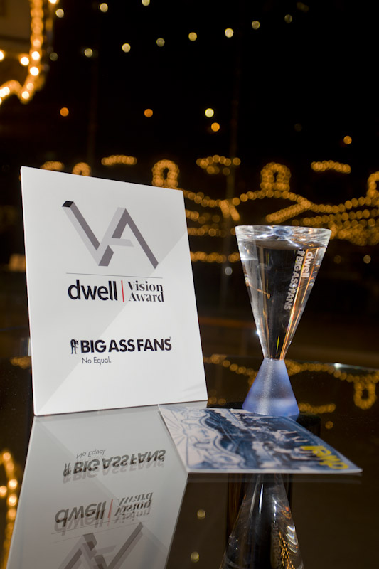 dwell vision award ceremony