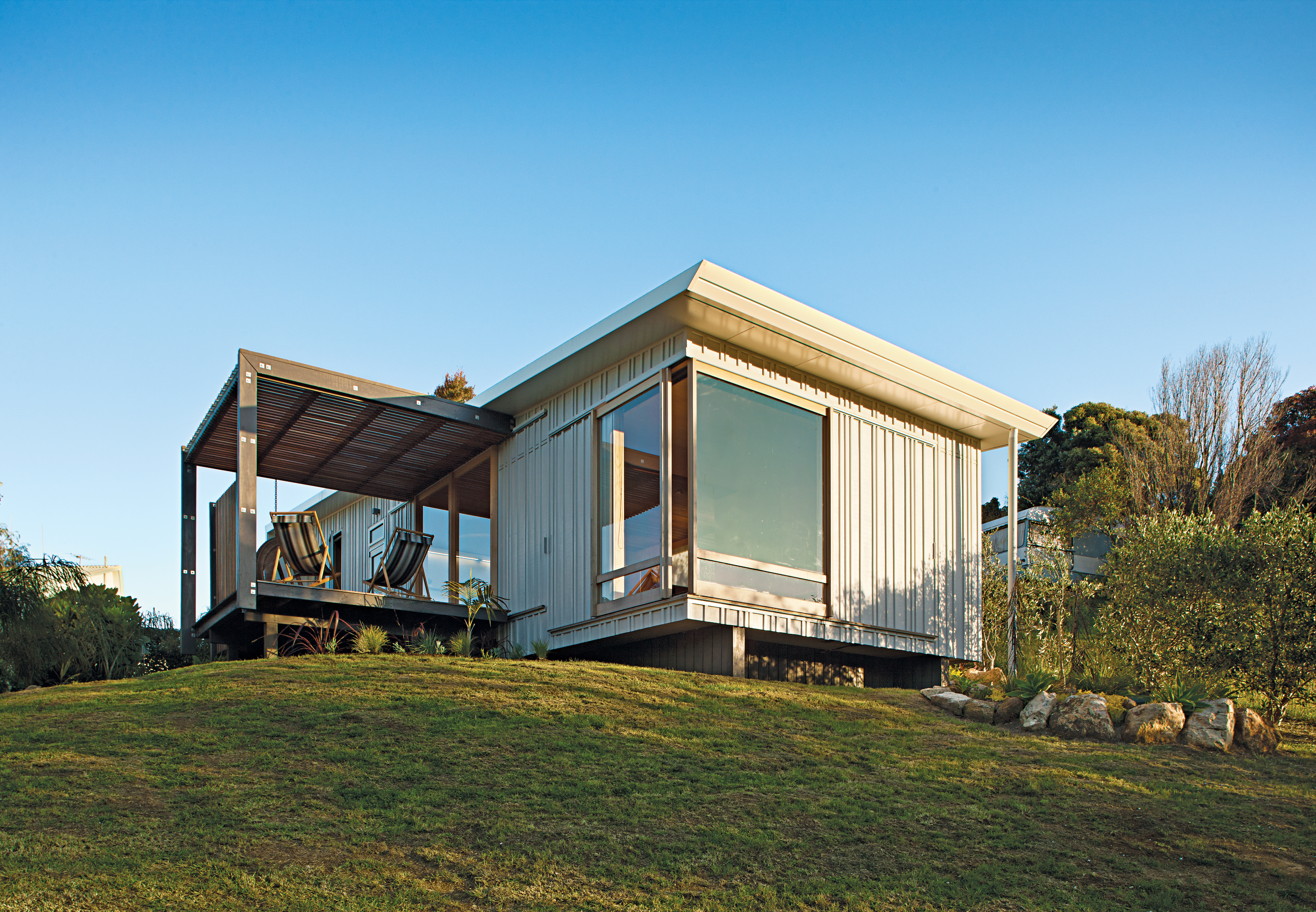 Students Pass Their Class by Building a House in New Zealand   Dwell