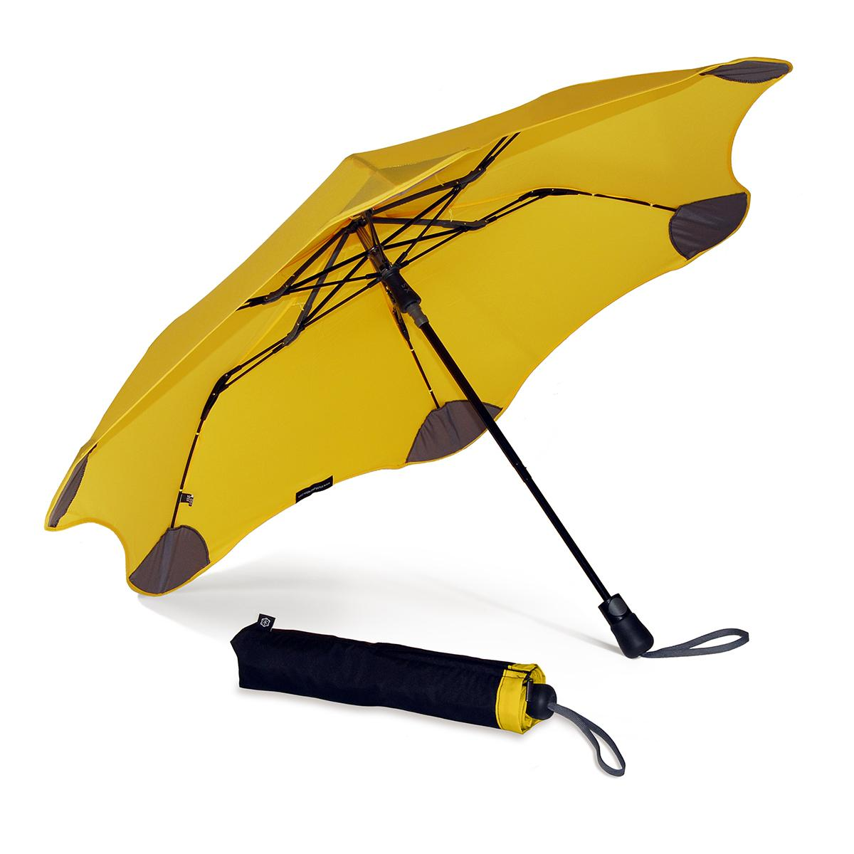 blunt yellow umbrella