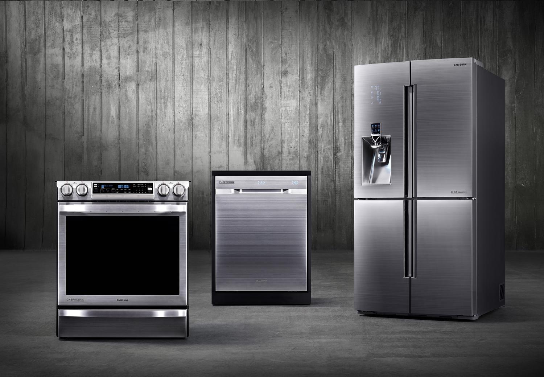 Samsung Club des Chefs appliances