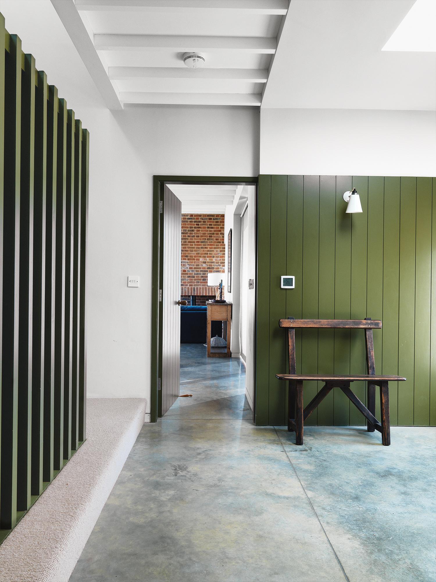 Lucy Marston home interior hallway