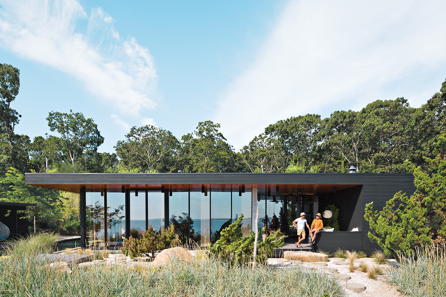 Shelter Island vacation home exterior