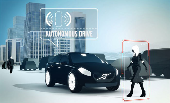 4 driverless car volvo 2014