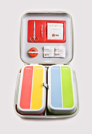 Falck first-aid kit by Designit