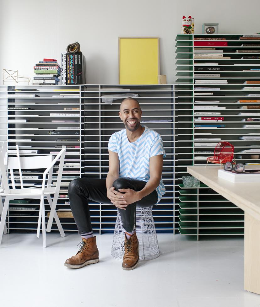 Stephen Burks Manhattan Readymade Projects studio Dwell on Design