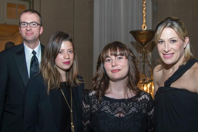 Dwell team at the Gala