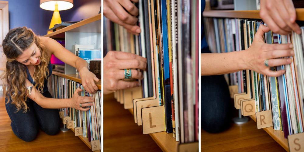 record dividers