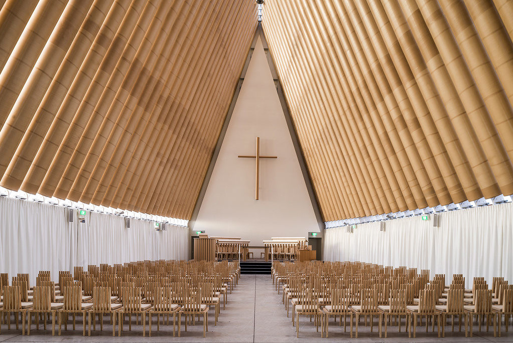 Cardboard Cathedral (Christchurch, New Zealand: 2013)