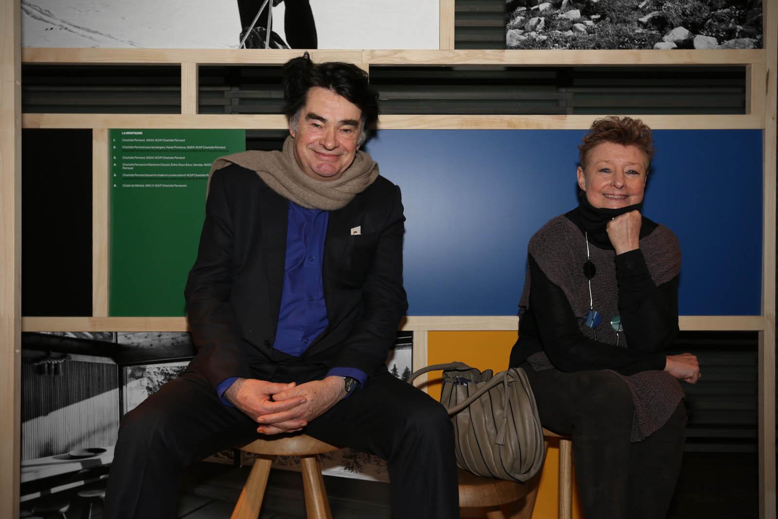 Pernette Perriand-Barsac and Jacques Barsac
