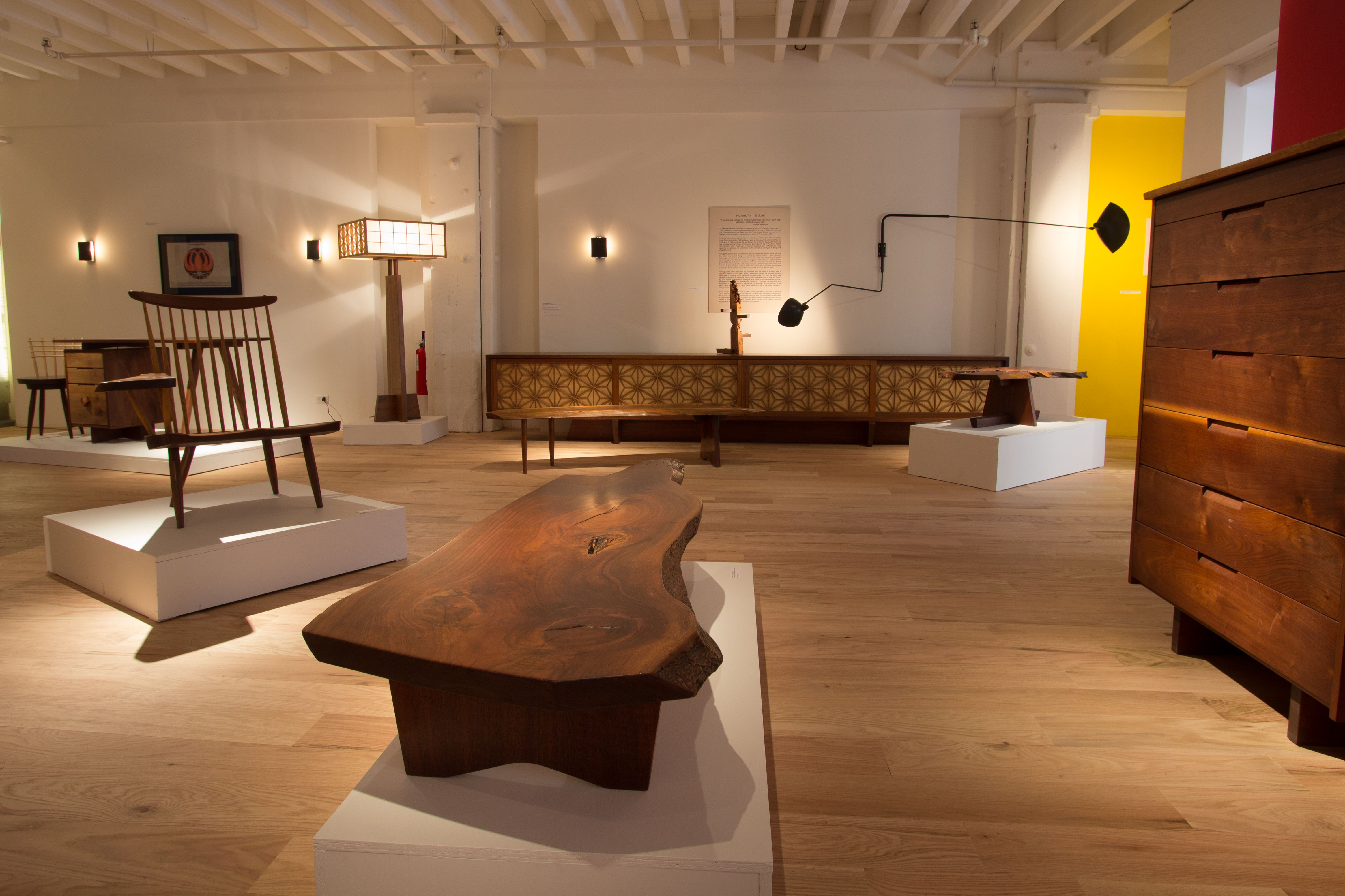 George and Mira Nakashima Exhibit