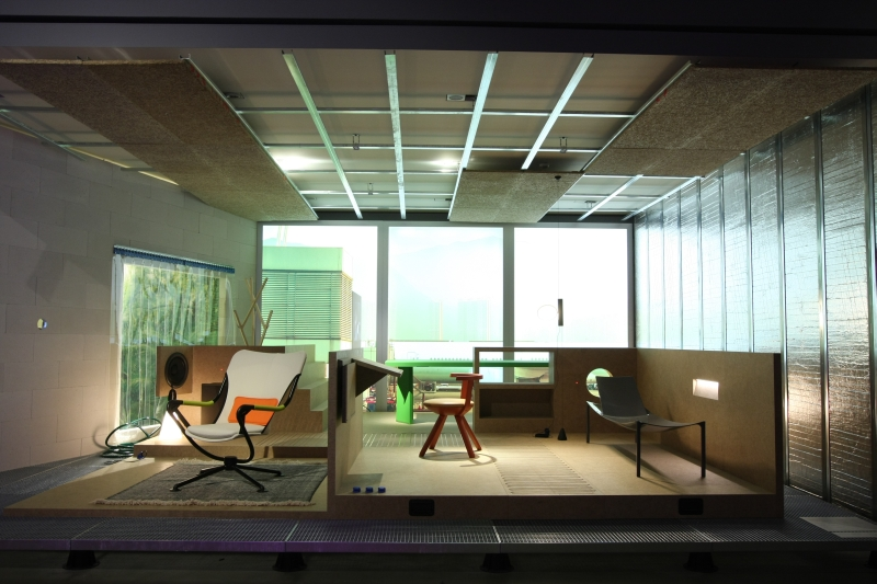 "Life Space at Konstantin Grcic's ""Panorama"" exhibition at the Vitra Design Museum"