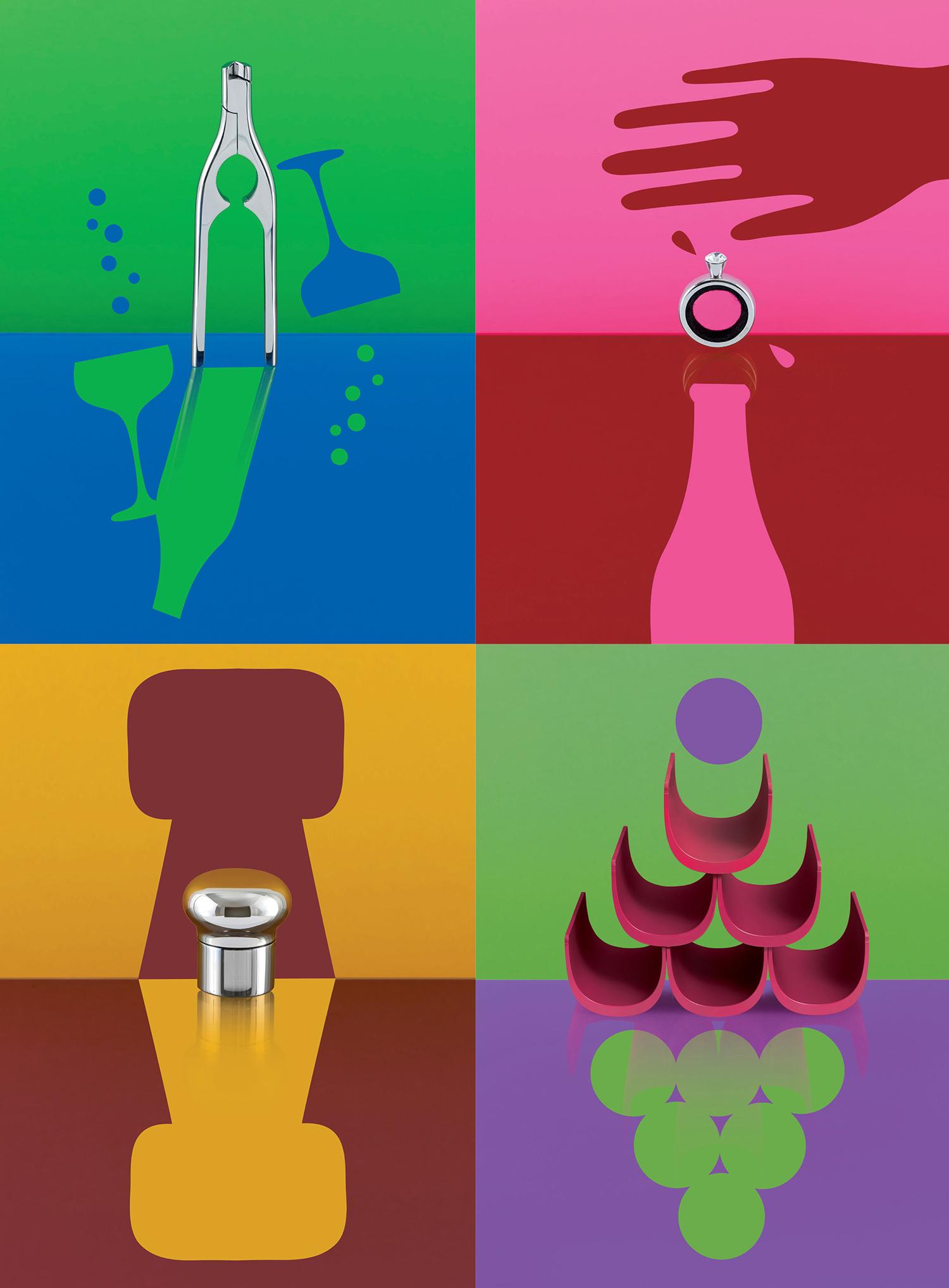 alessi design lab barware at wanted design