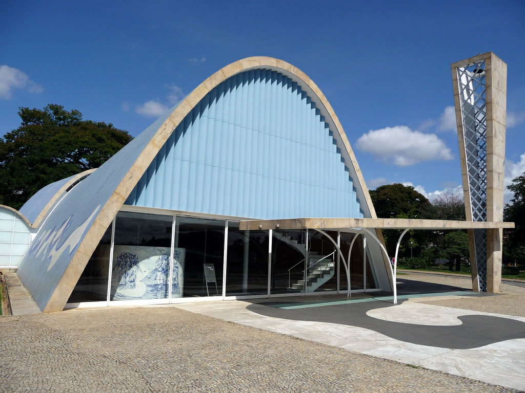 Oscar Niemeyer, Church of St Francis of Assisi
