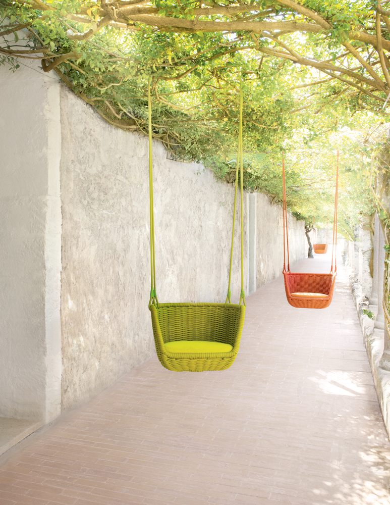 LongHouse Paola Lenti swings outdoor furniture