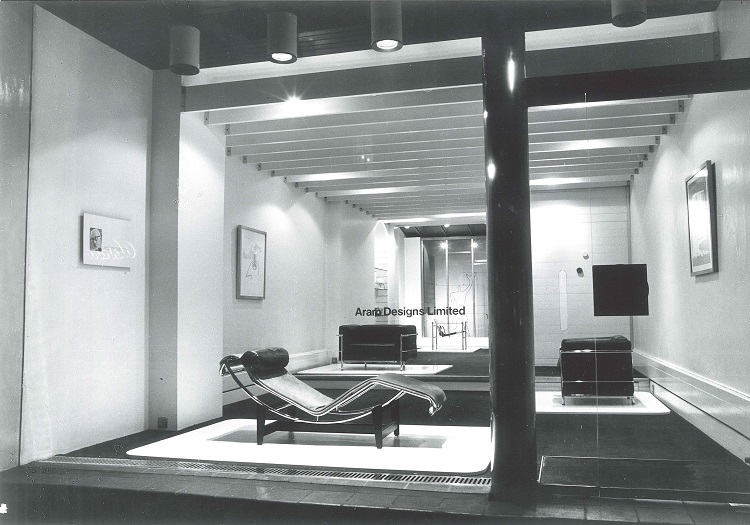 Aram Design Limited Showroom in 1964