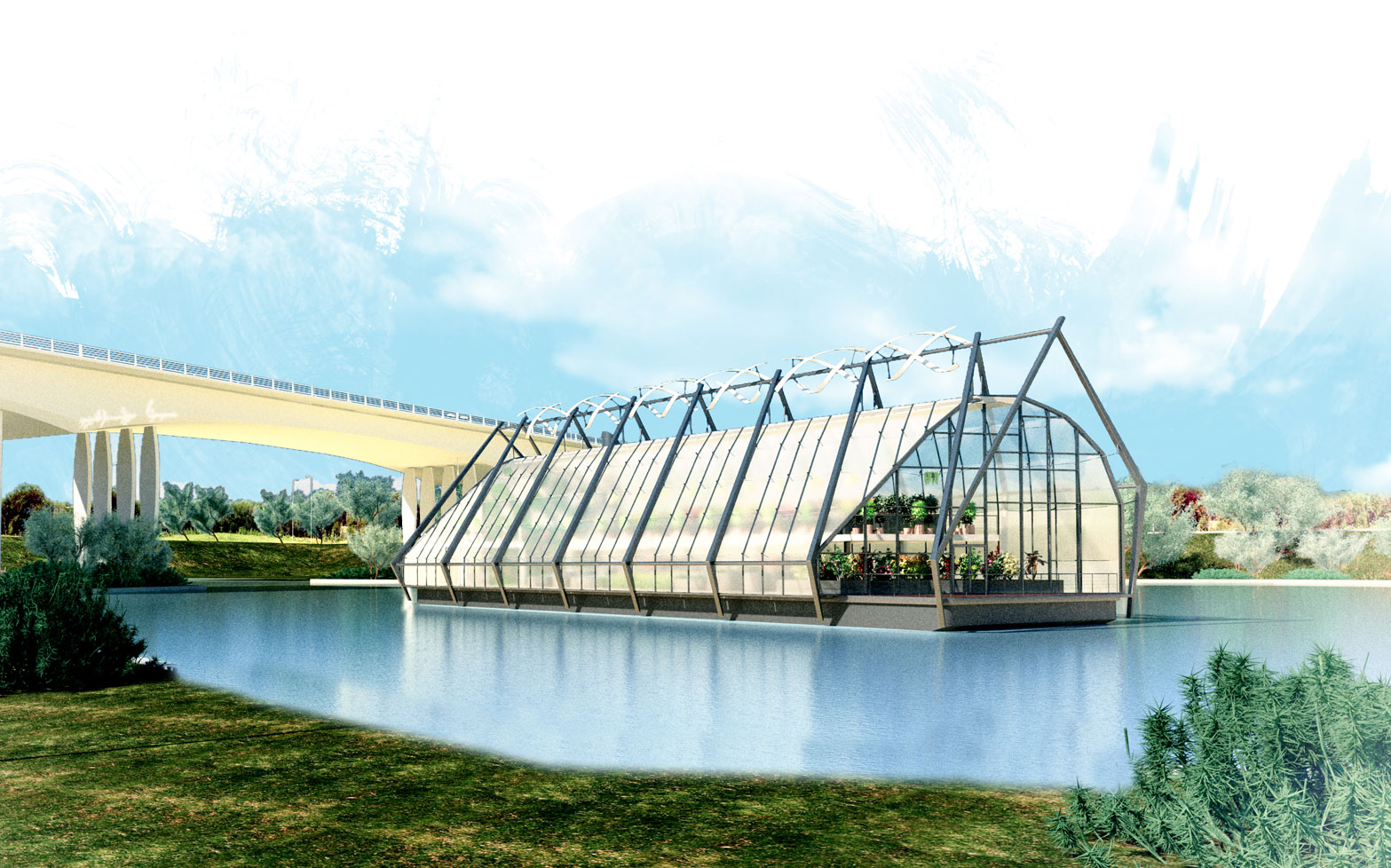 An idea from the 2013 snoLEAF greenhouse ideas competition