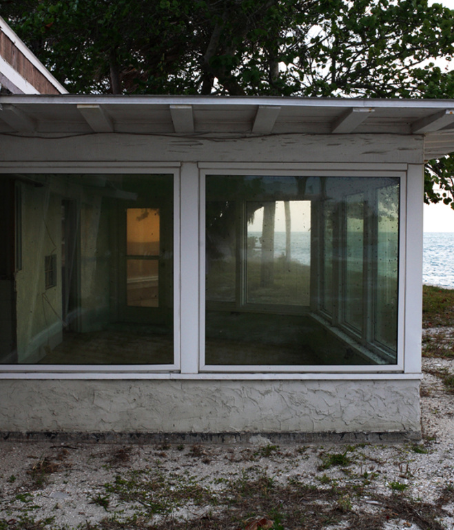 midcentury modern home by the water by Paul Rudolph