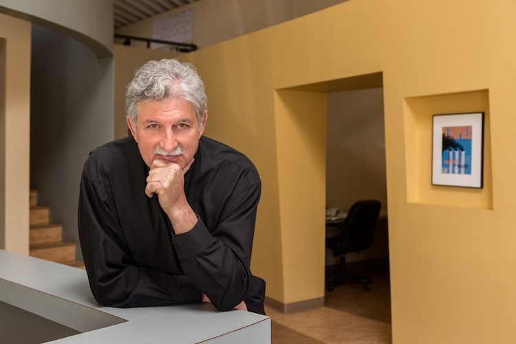 <b>Edward Mazria<b/><p>  The architectural advocate and activist next to the Architects Pollute cover story that helped spur action against climate change and help jumpstart his organization Architecture 2030, which advocates solutions to make the buildi