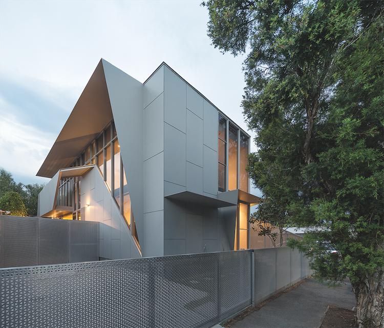 Melbourne Bike House Exterior Facade