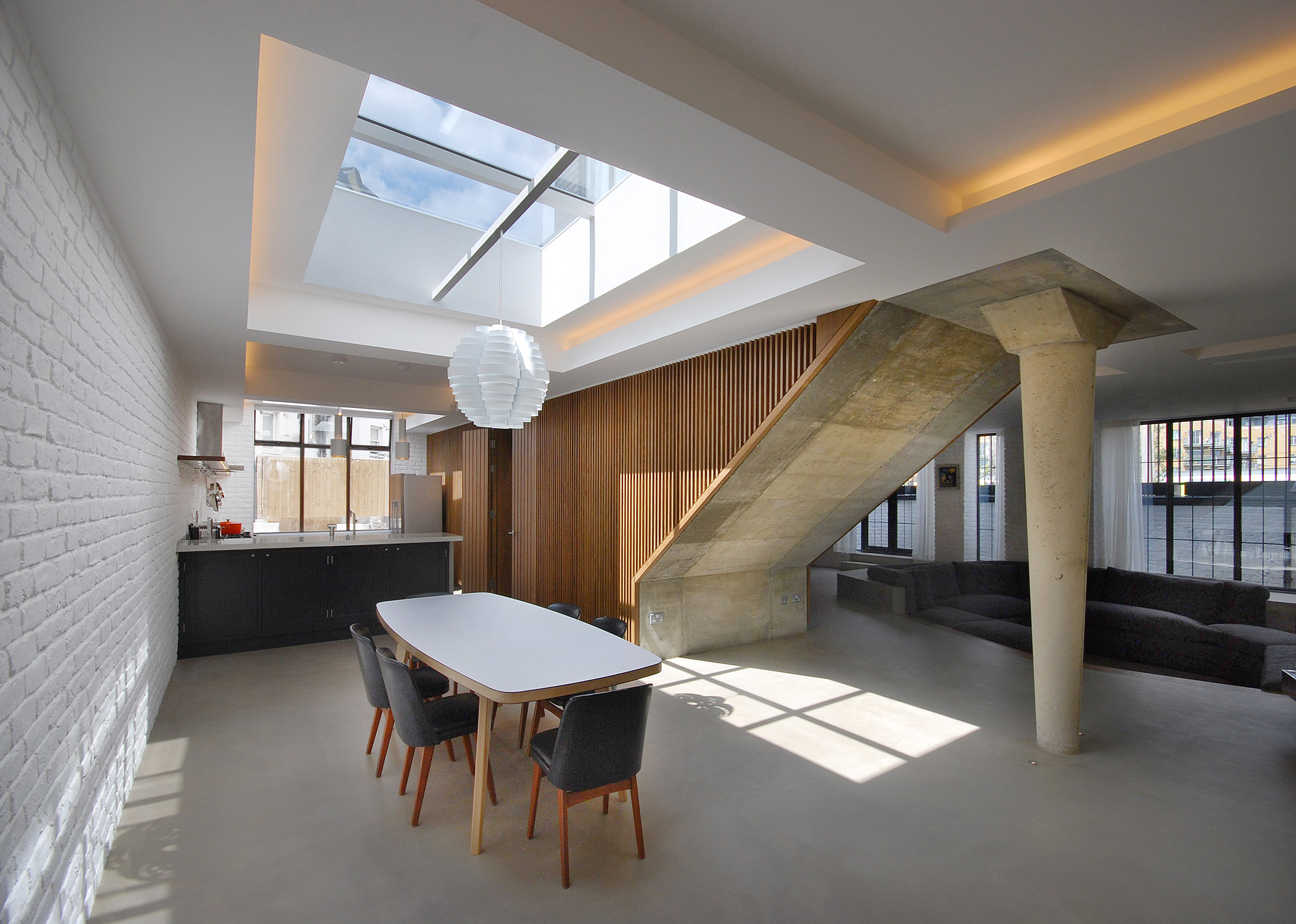 The Gables Kitchen and Dining Area, London