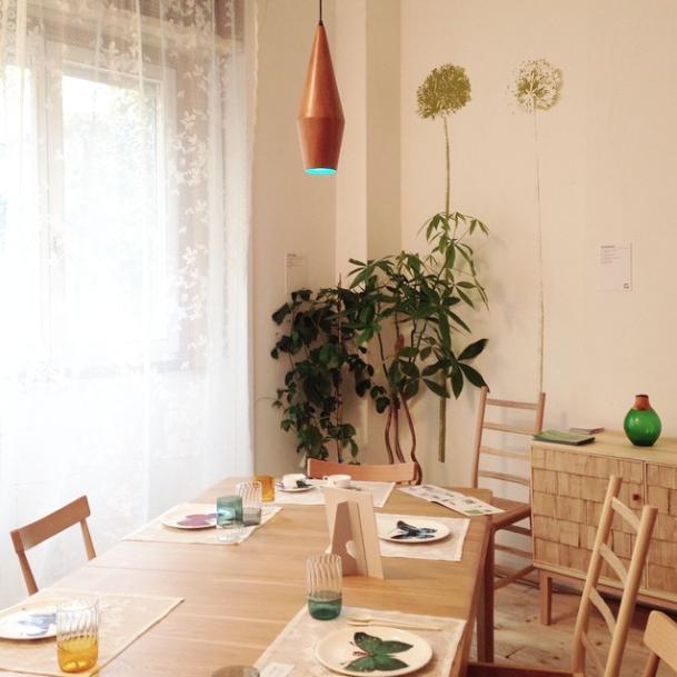 Design Junction eco-friendly living room at Salone del Mobile 2015
