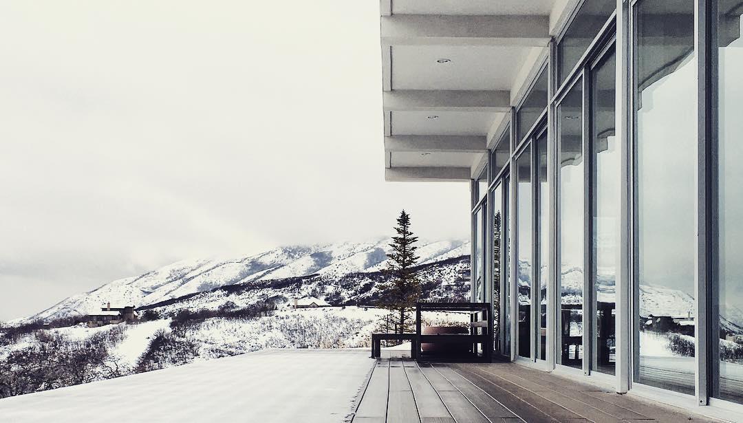 Utah winters from architect, Brent Jespersen