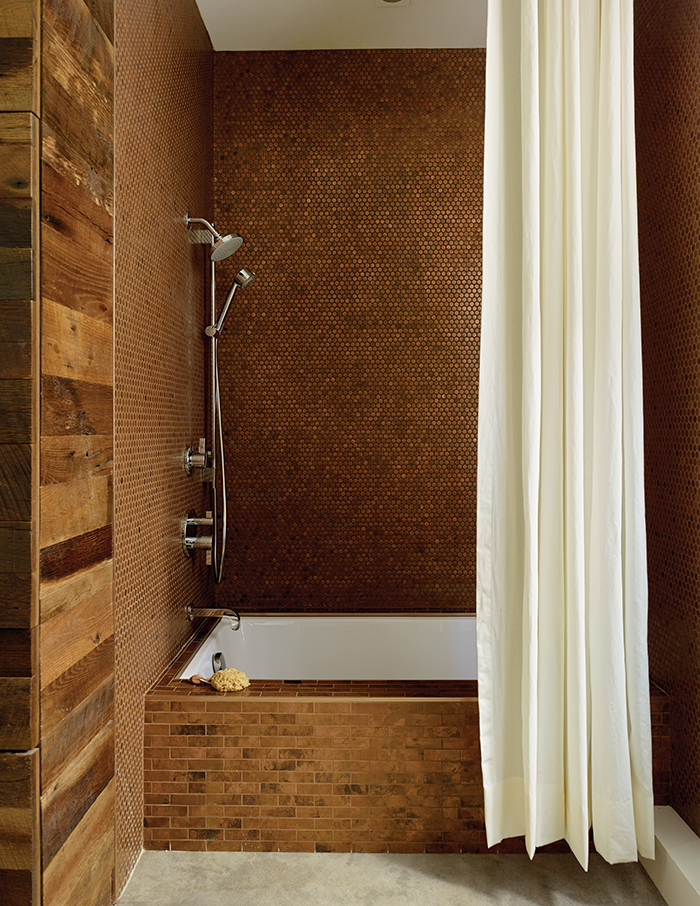 Bathroom Design Idea: Copper Color Scheme | Dwell