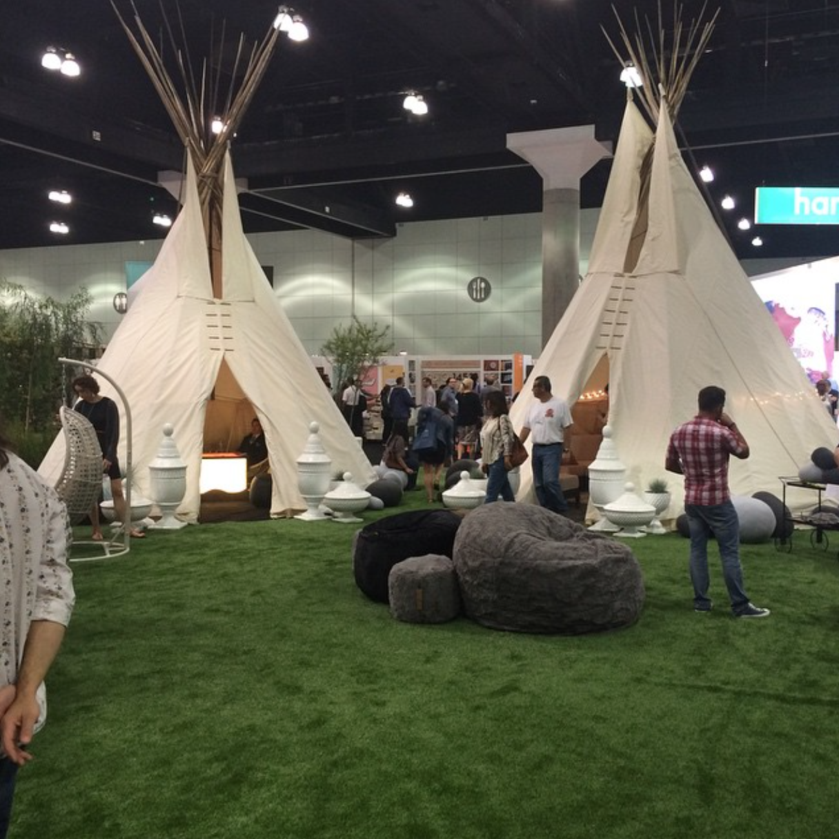 Teepees at Dwell Outdoor