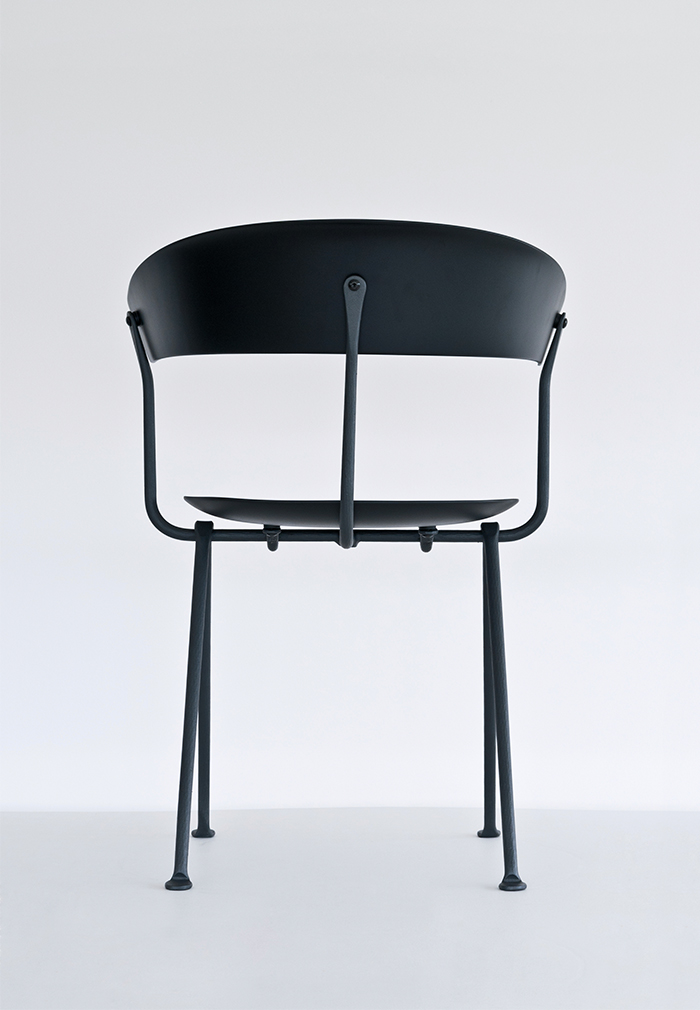 Chair in the Officina Collection by Erwan and Ronan Bouroullec for Magis
