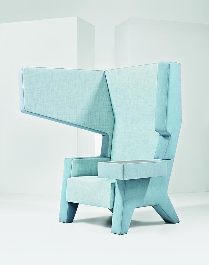 modern workplace furniture Mikkink & Bey ear chair