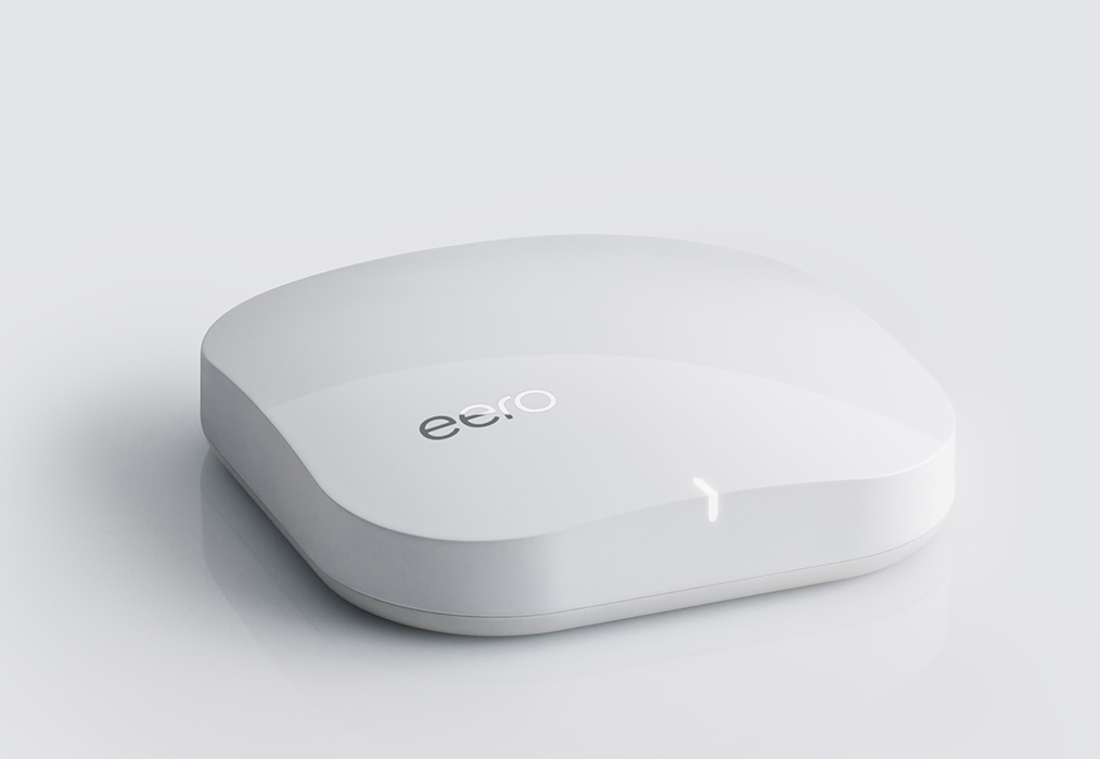 Modern router and range extender Eero