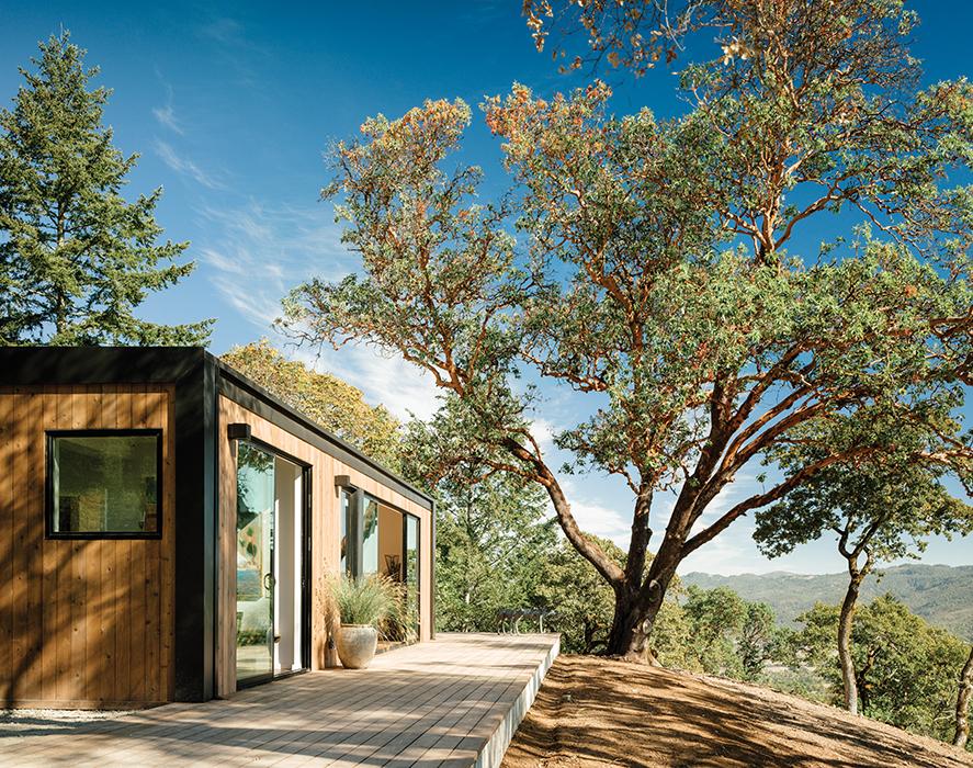 modern design prefab glass walls natural light airflow