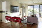 San Francisco living room with Wassily chairs